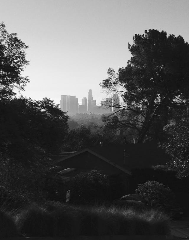 downtown LA from Micheltorena