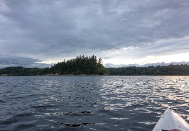 land! (McMicken Island)
